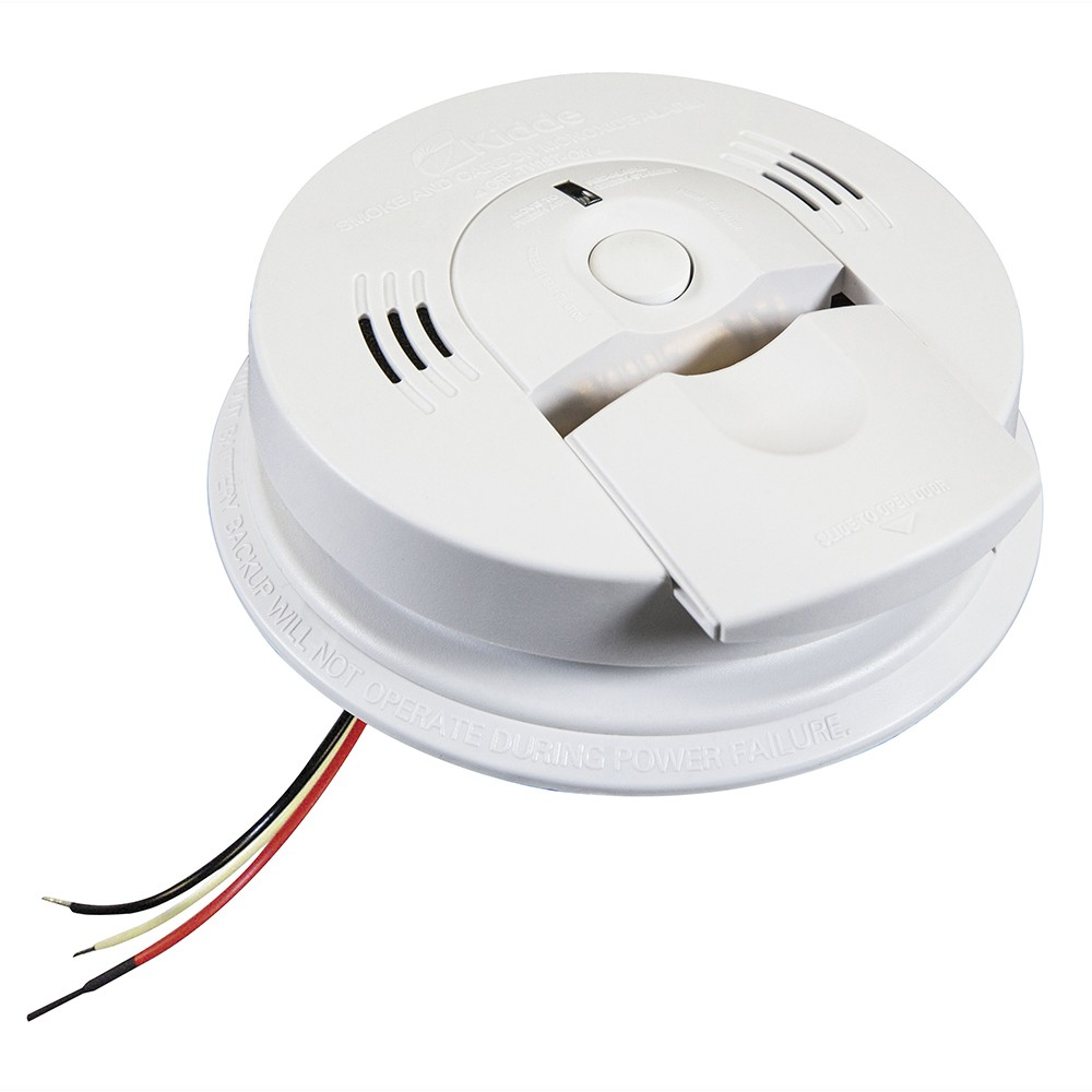 KID 21006377-N AC/DC Wire-In Smoke/CO Alarm w/ Voice, Front Load Battery, Interconnect CS=6 Alt: KN-COSM-IBA or 900-0114A