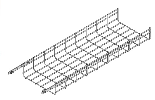 "CCT CAT4-18SL-120 CABLE TRAY 4""H X 18""W X 10'L STRAIGHT SECTION - BASKET TRAY"