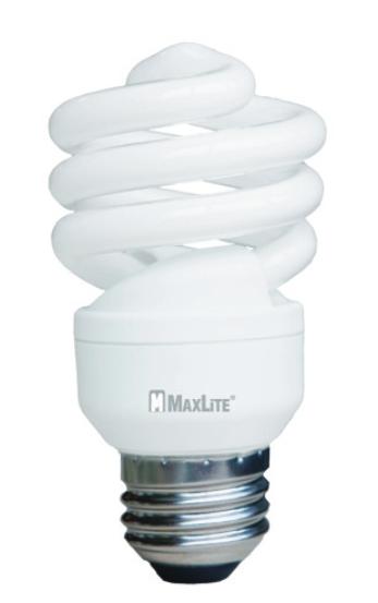 SKA SKS13T2WW-149 13W COMP FLUOR SPIRAL MINI LAMP 900 LUMENS CS=50 2700K - 10K HRS (EQUIV: 60W) 76646