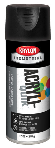 KRY K01602A00 ULTRA FLAT BLACK PAINT cs=6 MSDS SHEET REQ'D