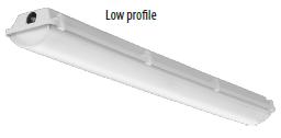 LIT FEML484LMVOLT5K 4FT LED VAPOR TIGHT FIXTURE - 4000Lumens - 5000K - 129LPW - 50K HR RATED