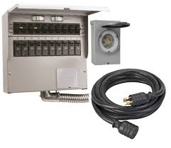 RELI 310CDK TRANSFER SWITCH KIT - 30AMP - *INDOOR RATED* FOR USE W/ 7500WATT (MAX) GENERATORS (W/ RAINTITE INLET BOX, *20FT* 30A POWER CORD & L14-20 PLUG)