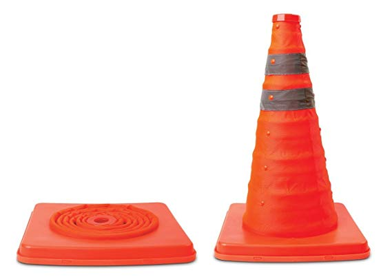 SCR 91190 18COLLAPSIBLE SAFETY CONE 1024LX1201WX1083H