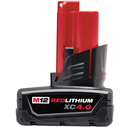 MIL 48-11-2440 M12 REDLITHIUM 4.0AH XC BATTERYC