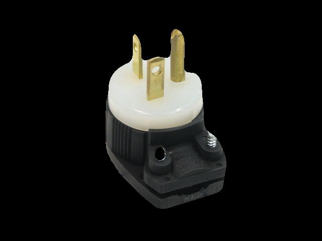 Straight Blade 15a-20a Plug