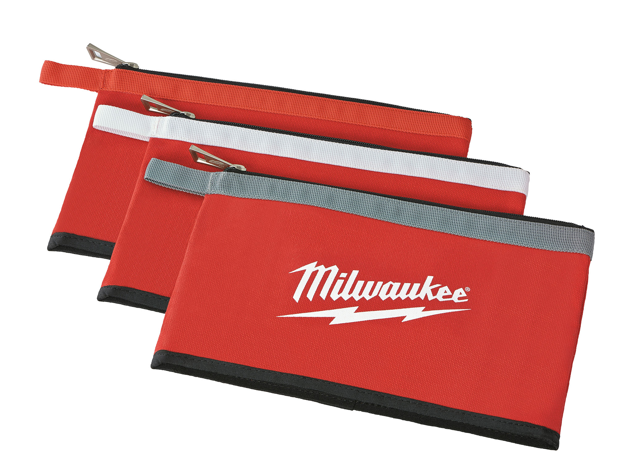 MIL 48-22-8193 3 PK ZIPPER POUCHES 3=1ea