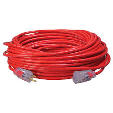 $SW 2489SW8804 14/3 100' OUTDOOR EXT CORD - ORANGE W/BLACK STRIPE - SJTW FORMERLY:SW 56-95-50-01