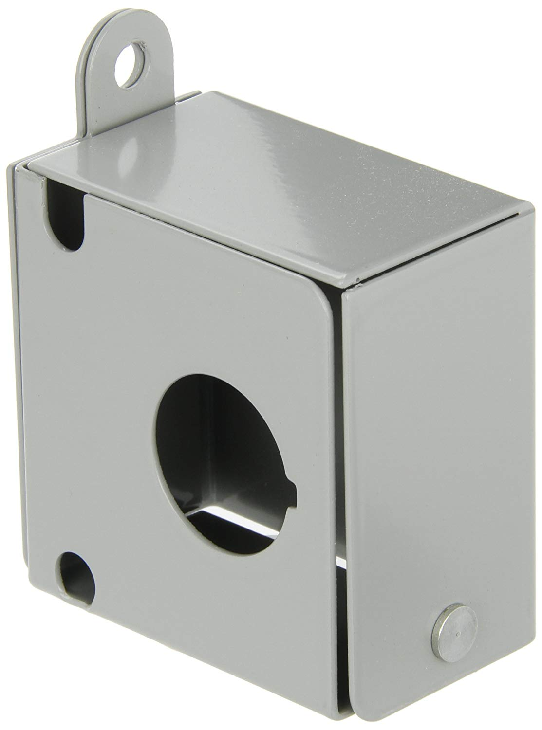 Accessory for CL52, 30mm Padlock Cover for use on Pushbuttons, Selector Switches, And Non Illuminated Mushroom Head Operators Cover Restricts Access To Operators, But It Does Not Force Mushroom Head To Remain in the Latched Position Metal,Painted Steel