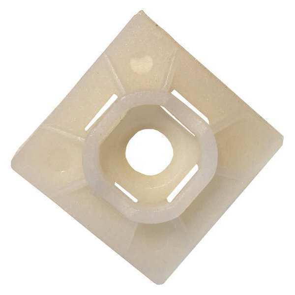 GAB MB-20 1-1/8SQ CABLE TIE MOUNT - 100COUNT