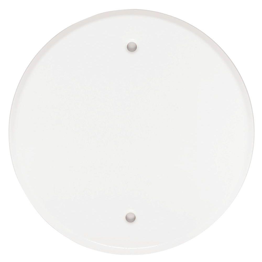 MUL 40430 5-IN WHITE FLAT CANOPY cs=10/100 MUL175