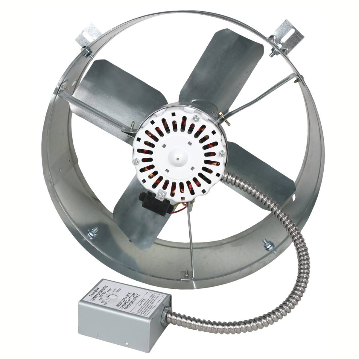 BUT VX2515 1300 CFM Power Attic Gable Fan