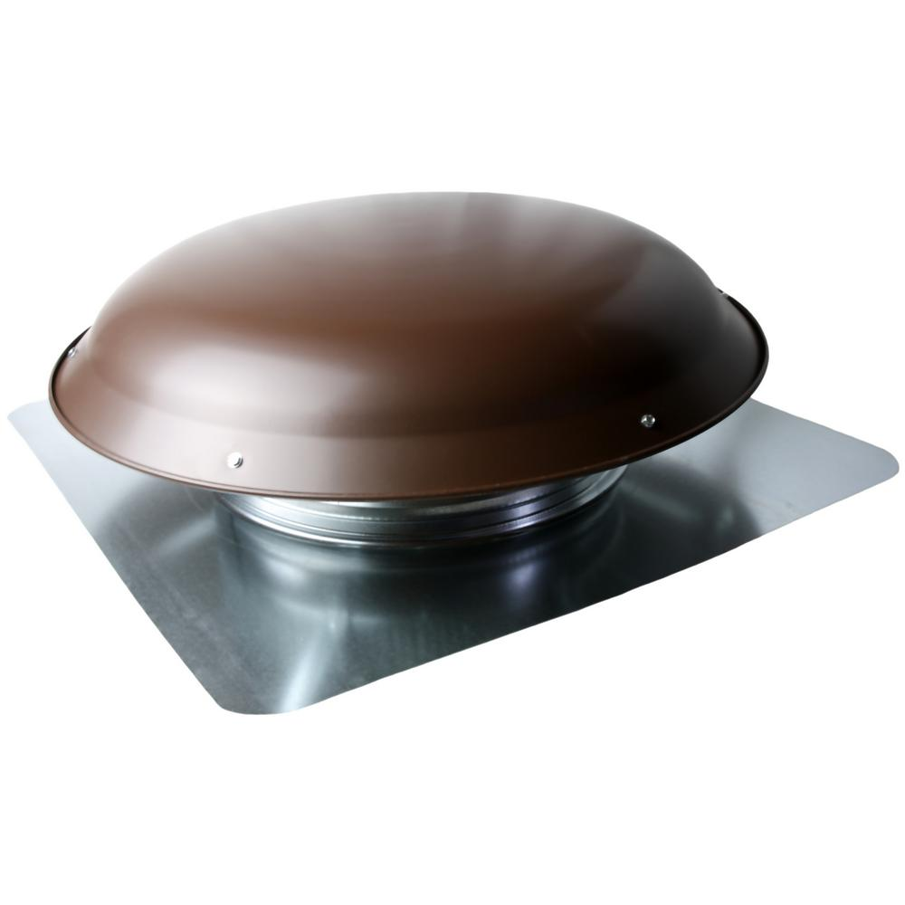 $BUT VXNRGTAABR Brown 1400 CFM Roof Fan - Aluminum Dome LIFETIME WARRENTY