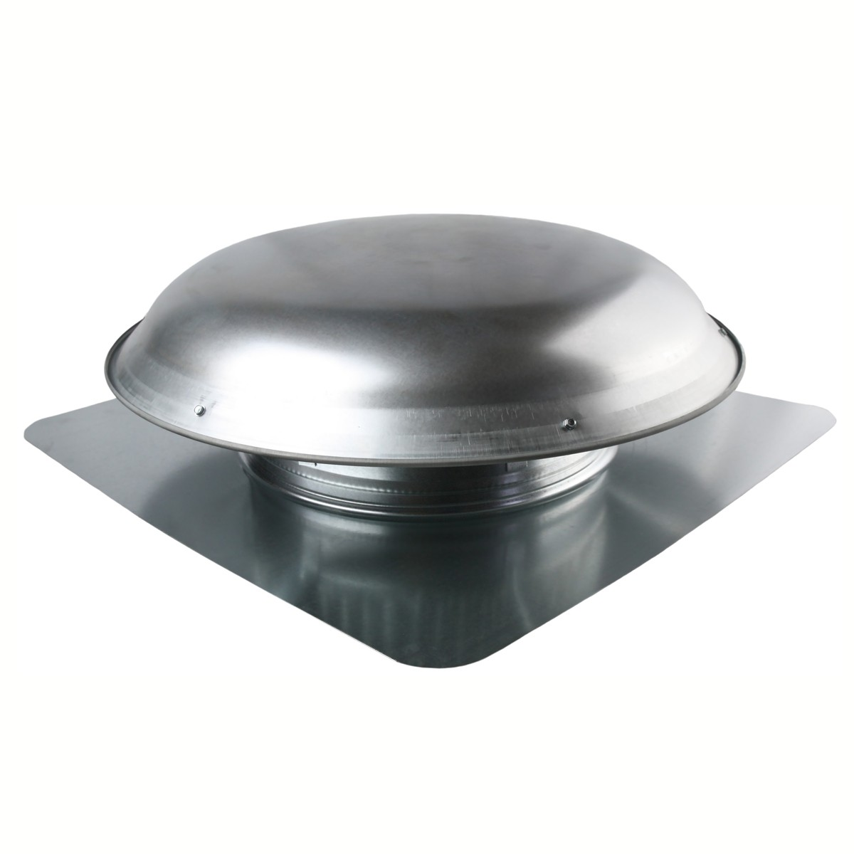 BUT VXNRGTAAWG Gray 1400 CFM Roof Fan - Aluminum Dome - 2.1 Amp Energy Efficient PSC Motor LIFETIME WARRANTY