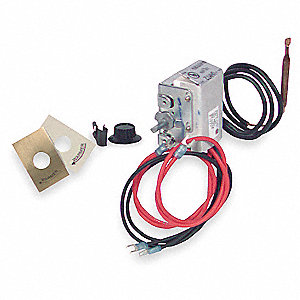 QMK UHMT1 THERMOSTAT KIT 40-85F SINGLE POLE INTERNAL MOUNTING ALT: MT-1