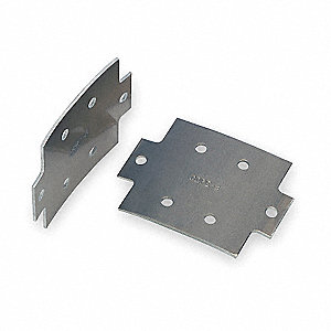 CCT 48-02RC SPLICE PLATE KIT - (INCLUDES:QTY2 SPLICE PLATES, QTY12 NUTS, QTY12BOLTS)