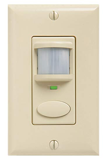 SES WSD-IV Wall Switch Decorator Sensor, Ivory, SKU - 184CHK cs=1