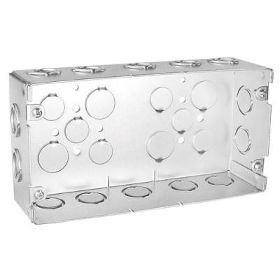 VICTOR VGB212-3-341 3 GANG BOX 2-1/2 D 3/4 & 1 CONC. K/O